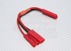HXT4mm Battery Harness 14AWG for 2 Packs in Parallel