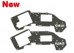 Gaui H200V2 Black Upper Frame Set for 6g~9g Servo (203447)