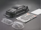1/10 Mustang GT350 Carbon Fiber Style Car Body Shell (190mm)