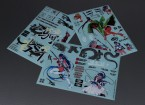 Self Adhesive Decal Sheet - Bakuretu Gekisin 1/10 Scale