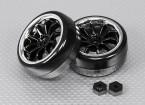 1/16 Brushless 4WD Mini Rally - Extreme Edition Drift Wheel Set