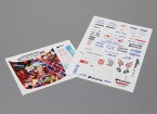 Self Adhesive Decal Sheet - D-Max D1 1/10 Scale