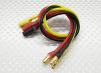 3.5mm Male/Female Bullet Brushless 16awg Motor Extension Lead 200mm