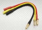 4mm Male/Female Bullet Brushless Motor Extension Lead 150mm