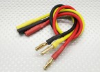 4mm Male/Female Bullet Brushless Motor Extension Lead 250mm