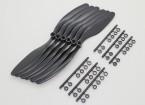 GWS EP Propeller (RD-8043 203x109mm) black (6pcs/set)