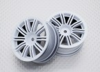 1:10 Scale High Quality Touring / Drift Wheels RC Car 12mm Hex (2pc) CR-M3W