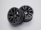 1:10 Scale High Quality Touring / Drift Wheels RC Car 12mm Hex (2pc) CR-BRM
