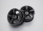 1:10 Scale High Quality Touring / Drift Wheels RC Car 12mm Hex (2pc) CR-F12M