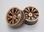 1:10 Scale High Quality Touring / Drift Wheels RC Car 12mm Hex (2pc) CR-BRG