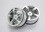 1:10 Scale High Quality Touring / Drift Wheels RC Car 12mm Hex (2pc) CR-F12C