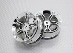 1:10 Scale High Quality Touring / Drift Wheels RC Car 12mm Hex (2pc) CR-MP4C