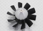 Dr. Mad Thrust Series 50mm EDF 10 Blade Replacement Impeller w/Nose Cone & Shaft Adapter