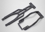 Chassis Upper Support Brace Set - 1/10 Hobbyking Mission-D 4WD GTR Drift Car