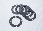 Diff. Box Gasket - Nitro Circus Basher 1/8 Scale Monster Truck, SaberTooth Truggy (6pcs)