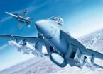 Italeri 1/72 Scale F/A-18E Super Hornet Plastic Model Kit