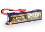 Turnigy nano-tech A-SPEC G2 2600mah 3S 65~130C Lipo Pack