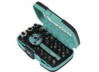 22 Piece Palm Ratchet Wrench & Socket Set