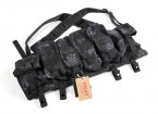 SWAT Cordura AK Front Chest Pouches (Kryptek Typhon)