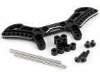 Active Hobby Tamiya TT-02 Reversible Suspension Conversion Kit - Front (Black)
