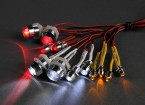 GT Power 12 Piece Super Bright LED Lighting Set for RC Cars