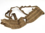Grey Ghost Gear Assault Chest Rig- Split Front (Coyote Brown)