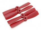 Diatone Bull Nose Plastic Propellers 4 x 4.5 (CW/CCW) (Red) (2 Pairs)