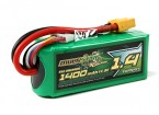 MultiStar Racer Series 1400mAh 4S 65C Multi-Rotor Lipo Pack (Gold Spec)