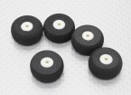 Small Wheel Diam: 25mm Width: 10mm (5pcs/bag)