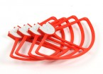 DJI Phantom 3 Series Propeller Guard Set (Red) (4pcs)