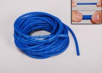 Blue 6mm Silicon Rubber Bungee Length: 10m Outside diameter: 8mm Inside diameter: 5 mm