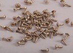 Self Tapping Machine Screw M2.6x4mm Phillips Head w/shoulder (100pcs)