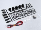 1/10 Crawler LED Light Bar Set (Black)