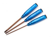Turnigy V2 Series 3.5, 5.0, 5.8mm Phillips Head Screwdriver Set (3pc)