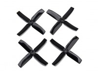 Dalprop Q4040 Bull Nose 4 Blade Propellers CW/CCW Set Black (2 pairs)