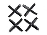 Dalprop Q4040 Bull Nose 4 Blade Propellers CW/CCW Set Black (2 pairs)