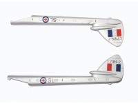 Durafly™ D.H.100 Vampire RCAF - Replacement Tail Boom Set