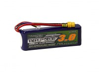 Turnigy nano-tech 3000mah 4S 25~50C Lipo Pack w/XT-60