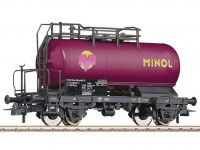 Roco/Fleischmann HO Tank Wagon DR (MINOL)