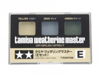 Tamiya Weathering Master E Set - Yellow, Gray, Green