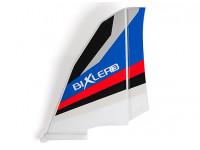 H-King Bixler 3 Glider 1550mm - Replacement Vertical Stabilizer (Blue/Red)