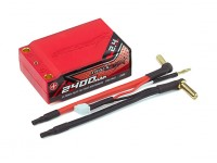 Trackstar Hardcase Super Shorty (Low C of G) 2400mAh 7.4V 70C Lipo Car Pack 2S2P (ROAR APPROVED)