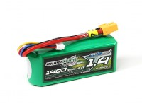 MultiStar 1400mAh 4S 40C Multi-Rotor Lipo Pack (with LED indicator)