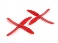 DYS 5040 x 4 Blade Electric Propellers (CW and CCW) (Pair) Red