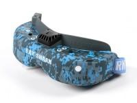 Fatshark Dominator V3 Hydro-Dipped Urban Cam Blue and Grey FPV Goggle