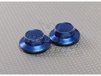 Blue Aluminum Hubcap (23mm Hex Adapter)