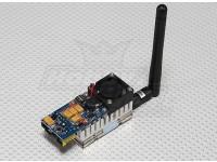 SkyZone 5.8G 500mW 8 Channel AV Transmitter FPV