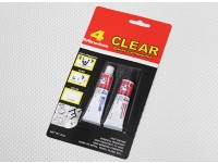 EV-804/20G 4 Min Clear Epoxy Glue