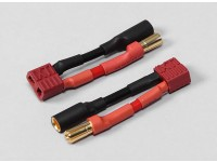 5.5mm Bullet Connector to T-Connector Battery Adapter (2pcs/bag)