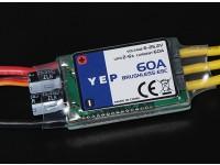 HobbyKing YEP 60A (2~6S) SBEC Brushless Speed Controller